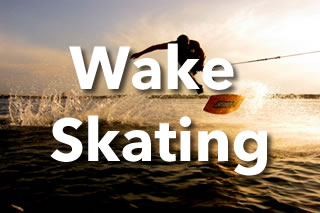 Wakeskating in Sri Lanka